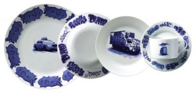 New York Delft Plates by Lovegrove & Repucci