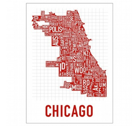 Chicago by Ork Posters