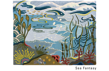 Sea Fantasy by Angela Adams
