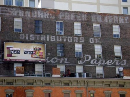 Standard Paper Company ghost sign