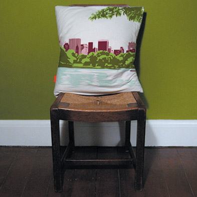 Central Park Pillow by Sukie