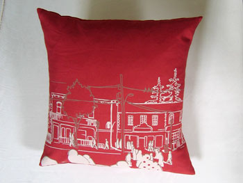 Uptown Pillow by Jenna Rose