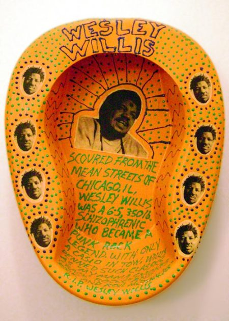 Bedpan Memorial to Wesley Willis