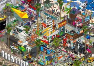 LA Poster by eboy