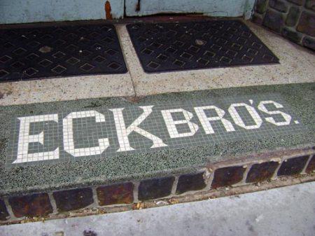 Eck Bro\'s. tile
