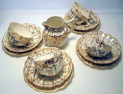 teacups by Esther Coombs