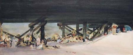 Under the Pier by David Levine