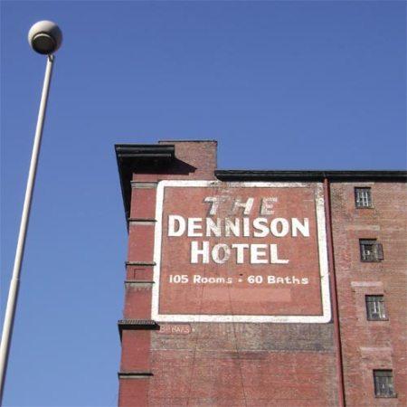 dennison1Dennison Hotel ghost sign downtown