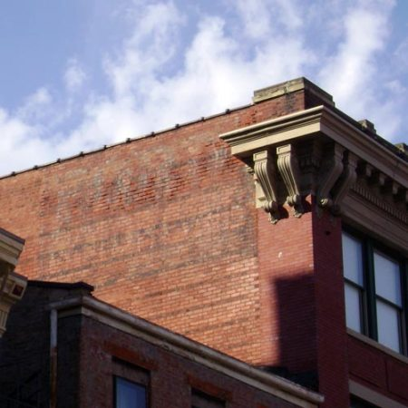 ghost sign downtown