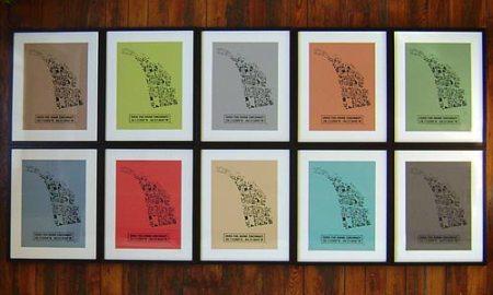 OTR Footprint prints