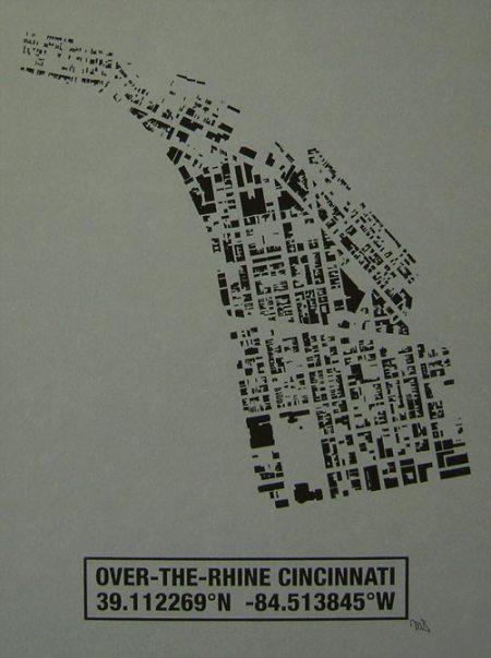 OTR Building Footprint print in Storm