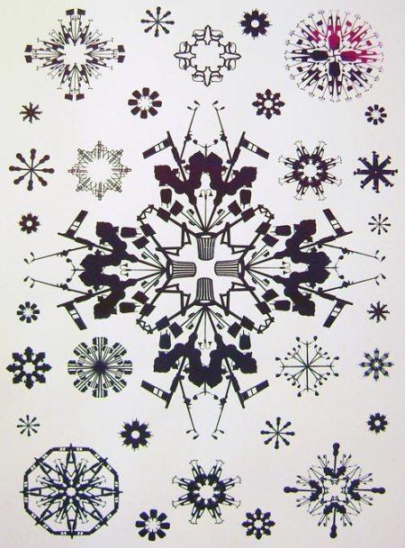 Streetflake print