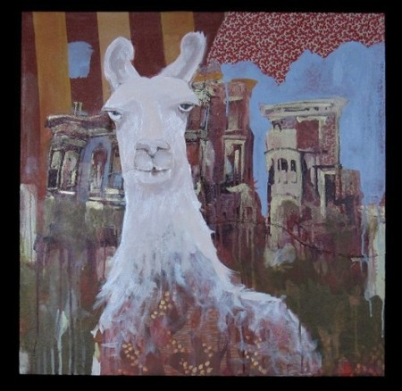 Llama's Town by Hilary Williams