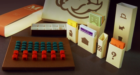 Monopoly repackaging by Andy Mangold