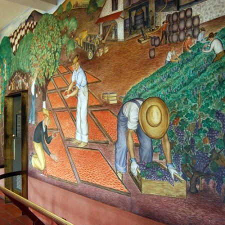 San Francisco's Coit Tower mural