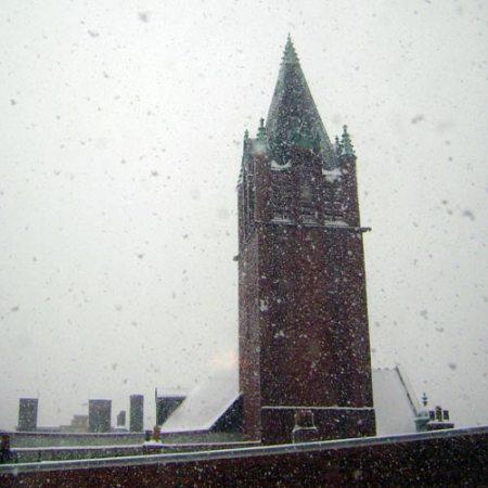 snow in Cincinnati