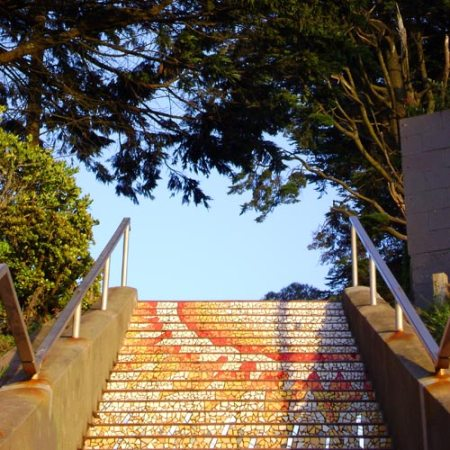 San Francisco's 16th Avenue Steps