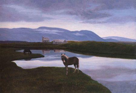 Þingvellir by Þórarinn B. Þorláksson