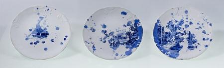 drip plates by Cat Merrick