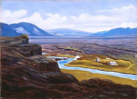 From Þingvellir II by Þórarinn B. Þorláksson