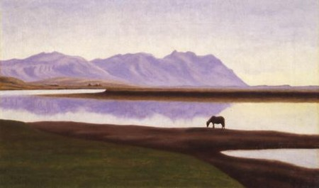 Hvitá in Borgarfjörður by Þórarinn B. Þorláksson