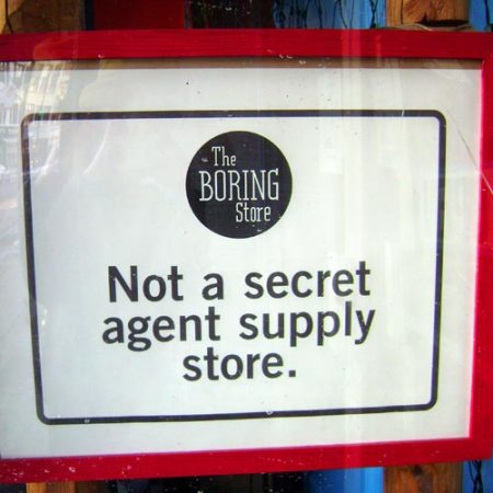 The Boring Store in Chicago