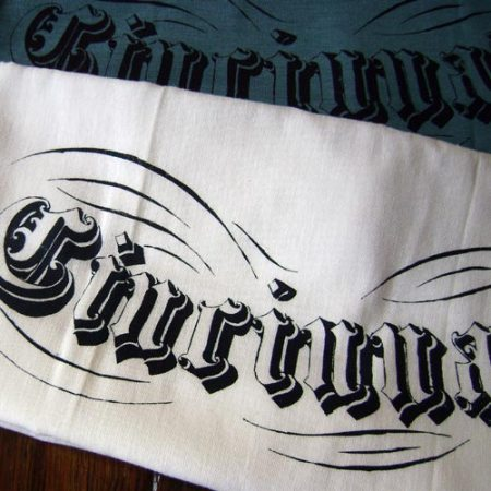Cincinnati Floursack towel by VisuaLingual