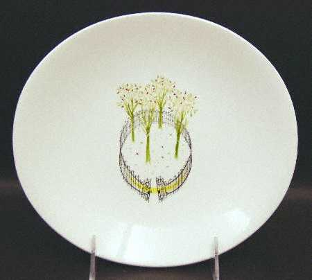 Buckingham salad plate by Eva Zeisel for Hall