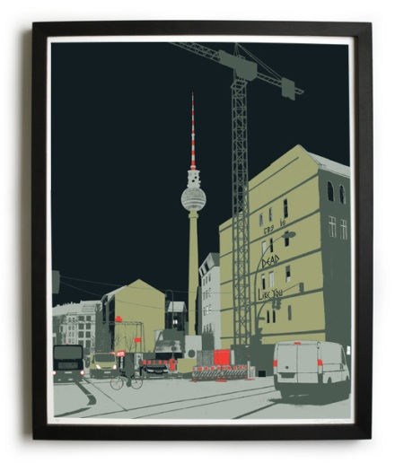Berlin Tower by Evan Hecox