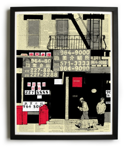 Chinatown Numbers by Evan Hecox