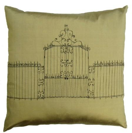 pillow by Bridget Davies