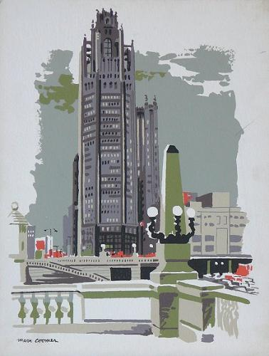 serigraph by Mark Coomer