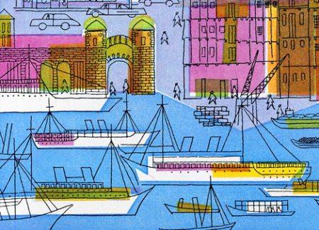 Hamburg Calendar by Sigrid+Hans Lammle