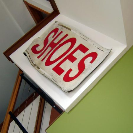 SHOES sign from Smitty's