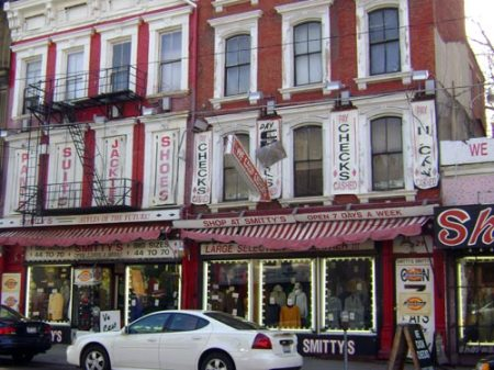 Smith's Toggery Shoppe in Over-the-Rhine