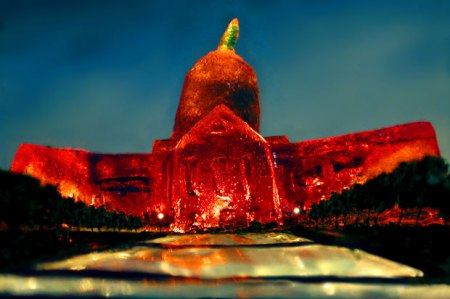 City Hall in Jell-O by Liz Hickok