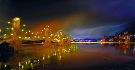 Bay Bridge in Jell-O by Liz Hickok