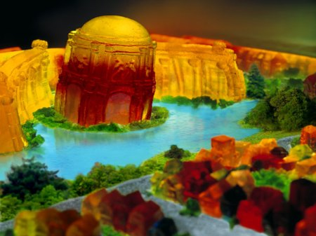 Palace of Fine Arts in Jell-O by Liz Hickok