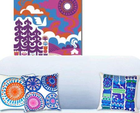 Marimekko home accessories by Sanna Annukka