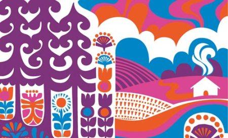 Marimekko textile by Sanna Annukka