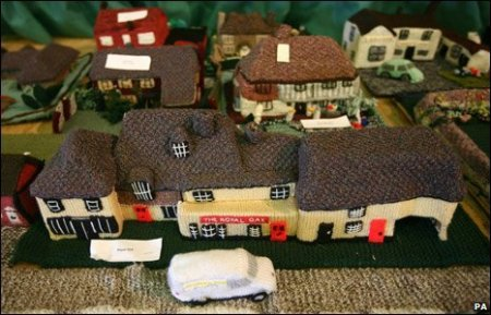 knitted village of Mersham