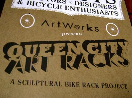 Queen City Art Racks poster by VisuaLingual