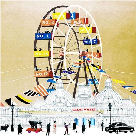Great Wheel by Natsko Seki