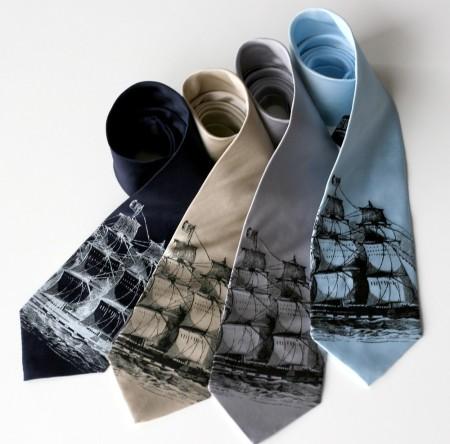 Clipper Ship tie