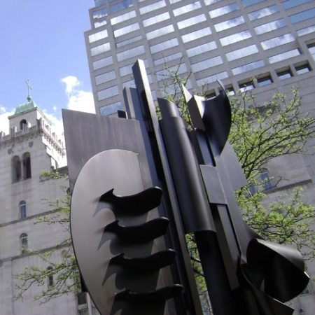 Louise Nevelson Sculpture in Downtown Cincinnati