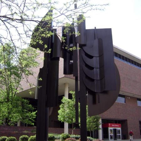 Louise Nevelson Sculpture in Downtown Cincinnati