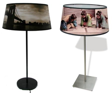 lampshades by Téo Jasmin