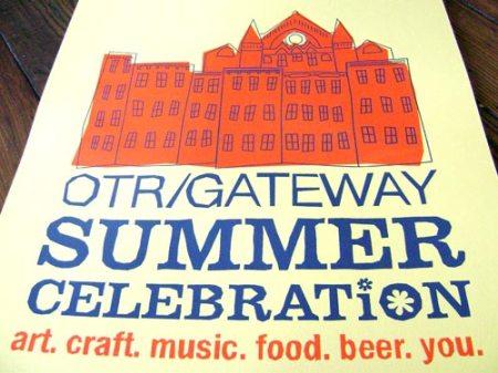 OTR/Gateway Summer Celebration poster