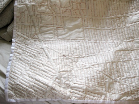 Fort Greene map blanket by Haptic Lab