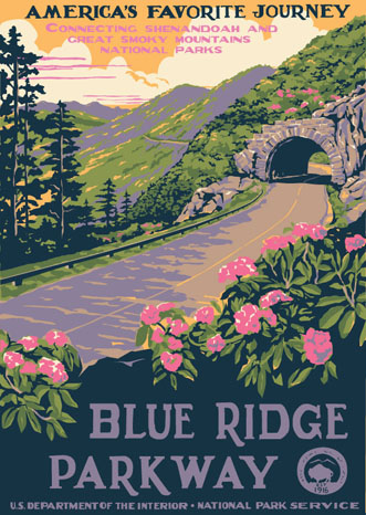 National Park poster by Ranger Doug
